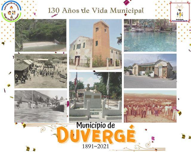 130 aniversario de Vida Municipal de nuestro Municipio de Duvergé